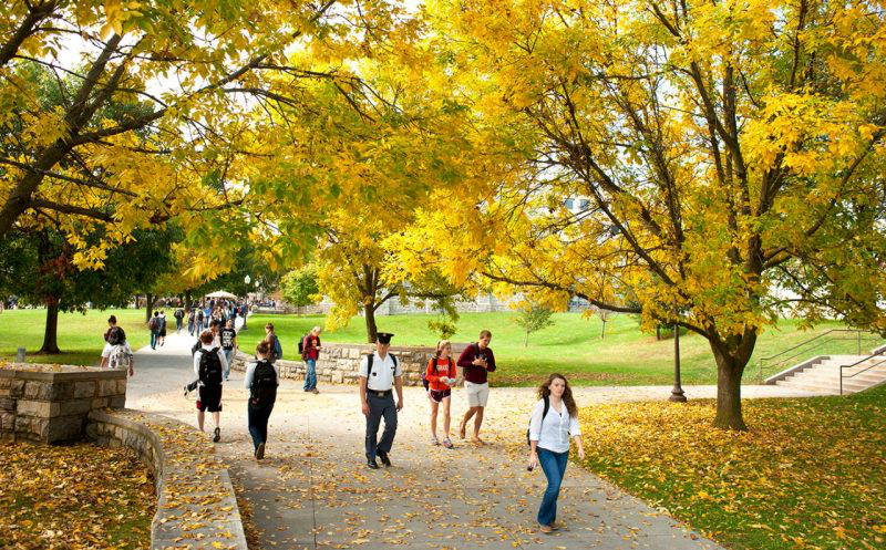 Campus in early fall